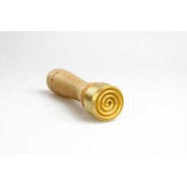 Perlenmacher Werkzeug Stempel mit Spirale_3167