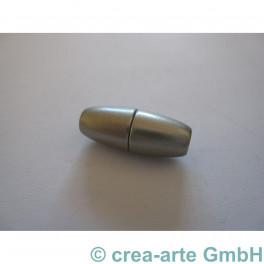 Magnetverschluss 22x8mm silber matt_3194