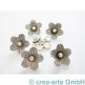 Blumenanhänger, 15x5mm, 6 Stück_3200