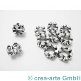 Metallspacer 9x4mm, 10 Stück_3207