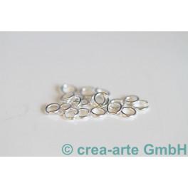 Biegeringe offen Silber 925  4.5mm, 20 St._3242
