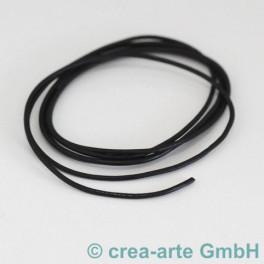 Lederschnur schwarz 2mm_3310