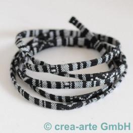 Textilband rot/orange 1m_3439