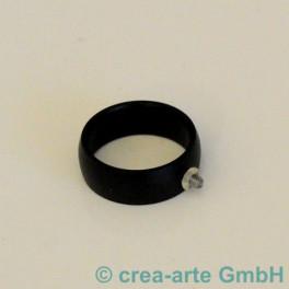 Edelstahl Rico-Design Fingerring schwarz_3473