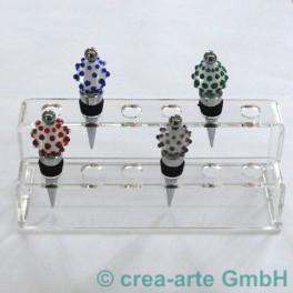 Acryl Display für 12 Flaschenstopper_3561