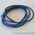 Nappaleder rund, 4mm, 1m, dunkelblau