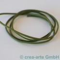 Nappaleder rund 2.5mm, 1m, kaktusgrün_3681