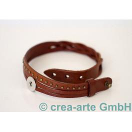 Chunk Armband hellbraun_3738
