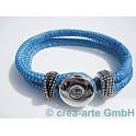 Chunk Armband blau