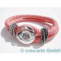 Chunk Armband pink