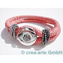 Chunk Armband pink_3771