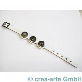 Chunk Armband weiss_3779