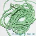 Seidenband Pongee lindgrün, 3 Stück