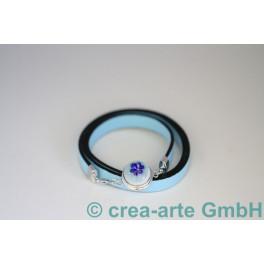 Chunk Armband hellblau_3898