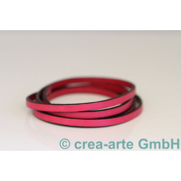 Flachlederband pink 1m_3965