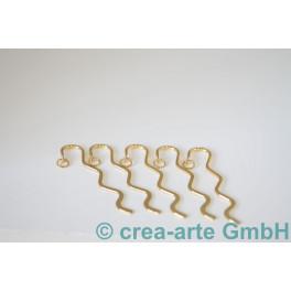 Lesezeichen mini 8.5cm goldfarbig, 5 Stk._4107