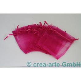 Organzabeutel pink, 9x12cm, 10 Stk_4144