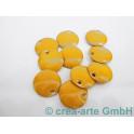 Metallplättchen gelb 12mm, Dicke 2.5mm, Bohrung 1m_4176
