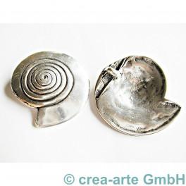 Metallanhänger Schnecke 2 Stk_4187