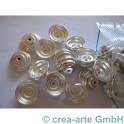 GP Metallkappen 2mm Bohrung 60 Stück