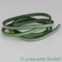 Flachlederband hellgrün 1m