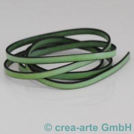 Flachlederband hellgrün 1m_4220