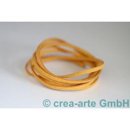 Imitationslederband gelb_4225