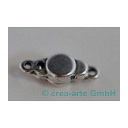 Magnetverschluss 7x18mm mit Öse 1mm, nickelfrei_4286