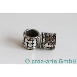 India, 925er Silber, 8x8mm, 2 Stück_474