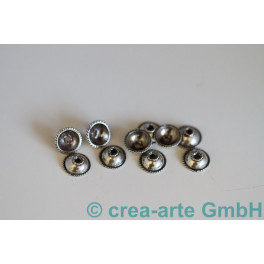Perlkappen 925er Silber 10St. 10mm_492