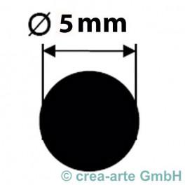 Borosilikatglasstange klar, 5mm Durchmesser_4945
