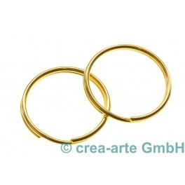 Schlüsselringe, 20mm, goldfarbig, 5 Stück_4992