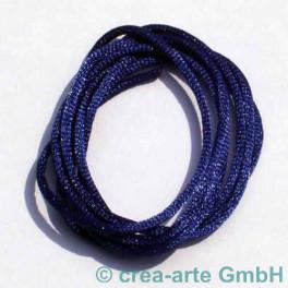 Seidenband 1m dunkelblau_5