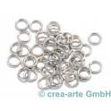 acier affiné anneaux 5x0.8mmmm, 40p.