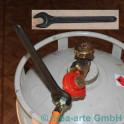 clef à vis pour racordements 19mm