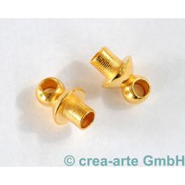 Endkappe, 2 Stück,  goldfarbig_5306
