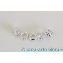 Metallperle verziert, 5 Stück_561