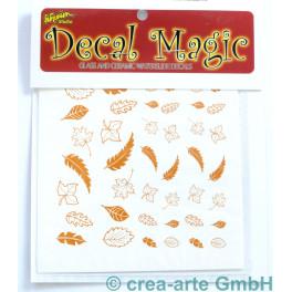 Decal Magic - Blätter, goldfarbig_5646