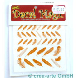 Decal Magic - Federn, goldfarbig_5652