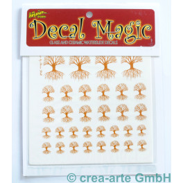 Decal Magic - Lebensbaum, goldfarbig_5654