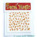 Decal Magic - Schmetterlinge 3, goldfarbig
