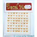 Decal Magic - Schmetterlinge, goldfarbig