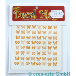 Decal Magic - Schmetterlinge, goldfarbig_5659