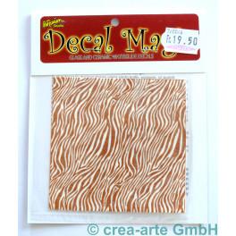 Decal Magic - Zebra, goldfarbig_5661