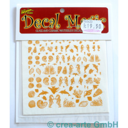 Decal Magic - Meerestiere, goldfarbig_5662