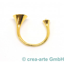 Fingerring Metall, goldfarbig_5723