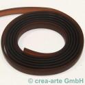 PVC Band 10mm 1m braun