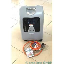 Brennerset Bobcat mit Sauerstoffkonzentrator 5l_5856