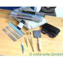Set Werkzeug & Verbrauchsmaterial Zweigasbrenner