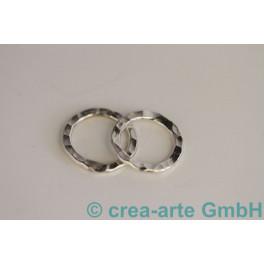 Wellenring, 925er Silber, 18x2mm 2 St._606